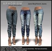 !APHORISM! - Jane Boyfriend Jeans - DEMO