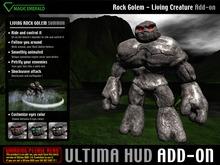 *Ultima HUD ADD-ON* Rock Golem Creature