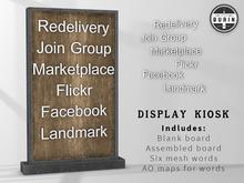 Burin: Display Kiosk Kit