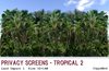 Privacy screens   tropical02