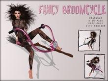 Boudoir Halloween-Wearable Fancy Broomcycle