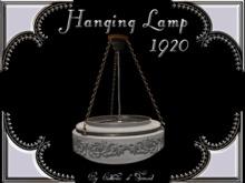 """""""CdT*Hanging lamp 1920 white"""