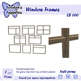 Window Frames (Full Perms)
