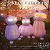 [DDD] Kitty Pumpkins - Pastels - 10 + 8 Tex. Change!