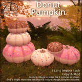 [DDD] Donut Pumpkin - Tex. Change, Materials Enhanced!