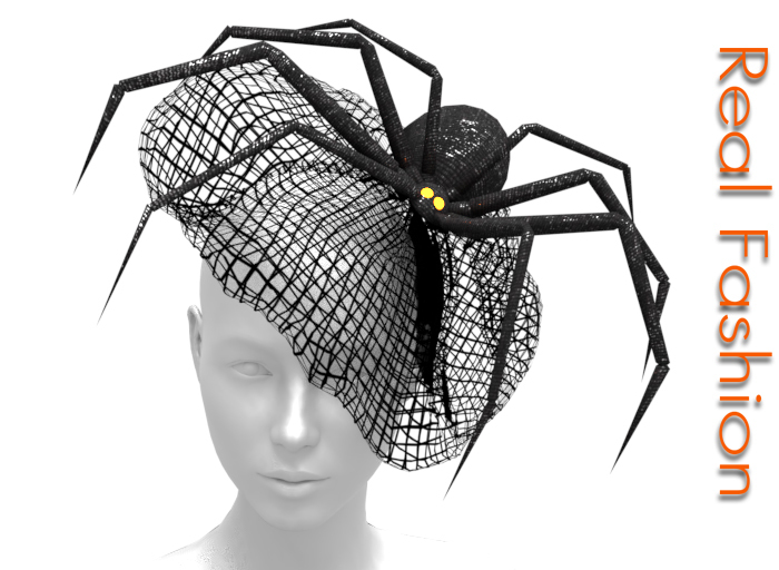 A very stylish Spider Hat. NEW