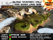 """Island """"Mystery call"""" for 64x64 land size or skybox"""