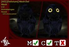 [AD] [Owlistare] Mesh Owl BOXED
