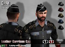 [GMan] HA - Leather Garrison Cap