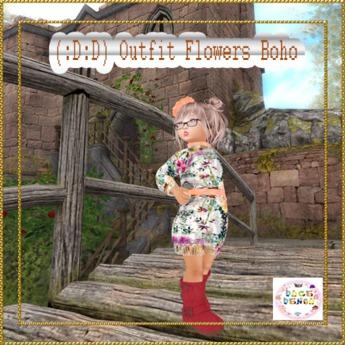 (:D:D)outfit Boho flowers