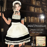 ***Ambrosia***Maid Dress[black] ~Maitreya_Fitted*