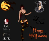 GIFT VRW Halloween outfit