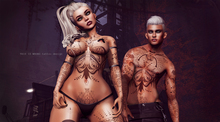 THIS IS WRONG Beast tattoo DEMO male and female