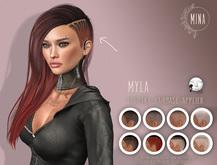 MINA hairbase HUD - Myla - Lelutka - [Add to Unpack]