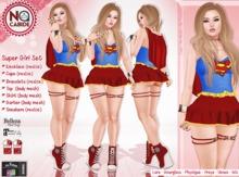 :: No Cabide :: SuperGirl Set  (Maitreya - Belleza - Slink)