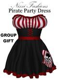 Nixxi Fashions - Pirate Party Dress
