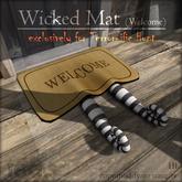 [tea.s] Wicked Mat - Welcome