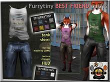 FURRYTINY BEST FRIEND OUTFIT FOX
