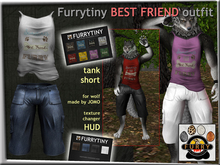 FURRYTINY BEST FRIEND OUTFIT WOLF