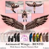 AvaGirl - Unisex - Animated BENTO Wings