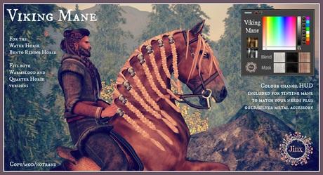 Jinx : Viking Mane for the WHRH