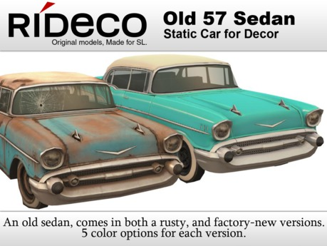 RiDECO - Old 57 Sedan