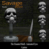The Haunted Skull by Savage