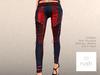 RUSH Tartan Pants Red and Blue