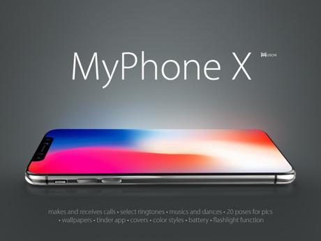 MyPhone X // MUSCHI