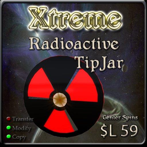 Xtreme 3D Radioactive TipJar ( Tip Jar )