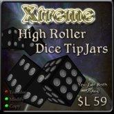Xtreme 3D High Roller Dice TipJar - Tip Jar