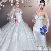 ::TD:: Alma Wedding Mesh Gown DEMO