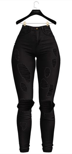 .:villena:. - Superskinny Jeans - Black