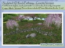 *Ya's* Granite Pathway / Copy+Mod ( Box)