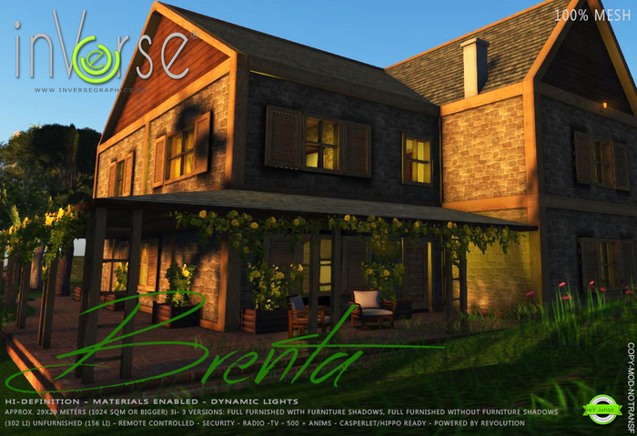 inVerse® MESH - Brenta -  furnished cottage classic house