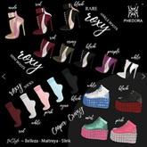 Phedora ~ Roxy Mini boots purple ~ Maitreya
