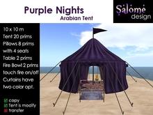 Arabian Tent - Purple Nights