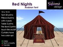 Arabian Tent -  Red Nights