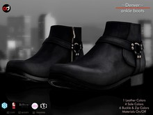 A&D Clothing - Shoes -Denver- Ebony