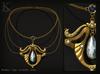 (Kunglers) Nadir necklace - Sapphire