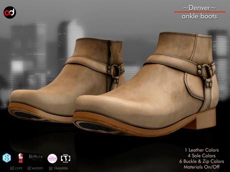 A&D Clothing - Shoes -Denver- Sand