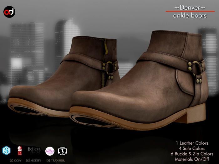 A&D Clothing - Shoes -Denver- Brown