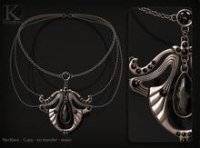 (Kunglers) Nadir necklace - Onyx