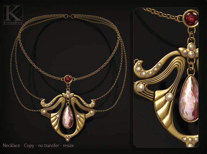 (Kunglers) Nadir necklace - Quartz