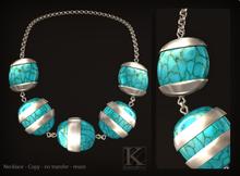 (Kunglers) Cleuza necklace - Turmaline