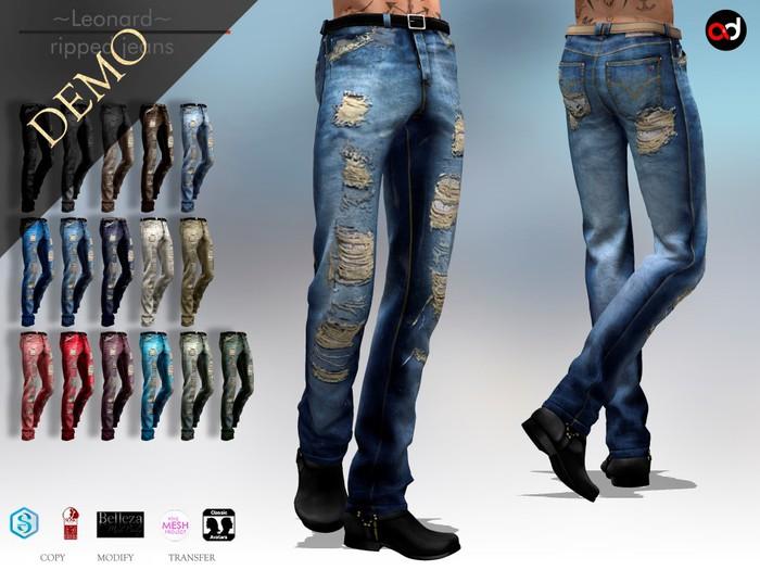 A&D Clothing - Pants -Leonard-  DEMOs