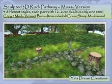 *Ya's* Mossy Pathway / Copy+Mod ( Box)