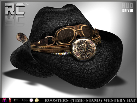 Roosters (Time Stand) Western Hat