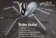 [ WoO ] Drider Avatar - WHITE