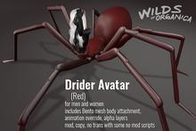 [ WoO ] Drider Avatar - RED